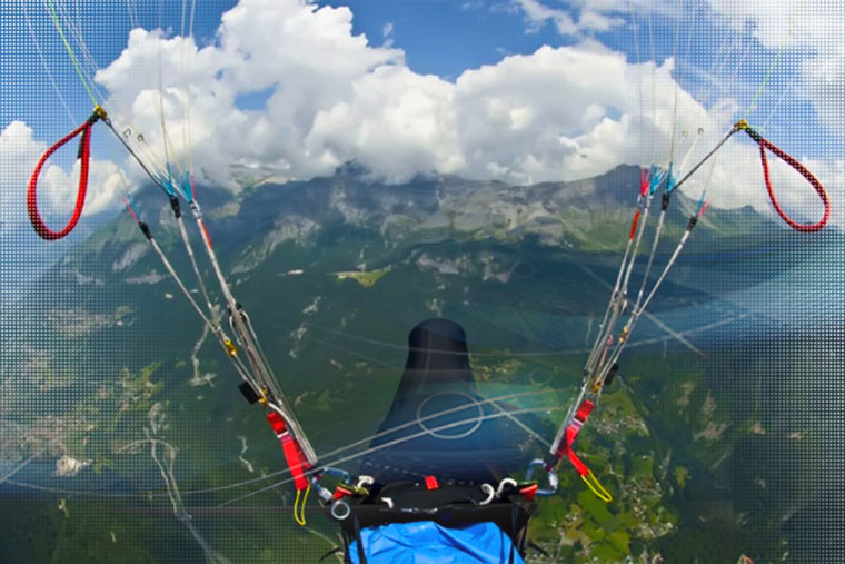 Cross Country Parapente